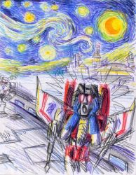 MASTERPIECE OF STARSCREAM by blackhellcat