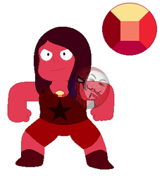 Ruby (Gemsona) by TheMaskedSpider