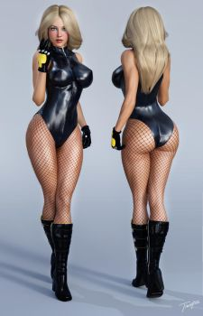 Character Reference Black Canary by tiangtam