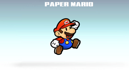 Paper Mario Flattens the Roster!!! by SCP-096-2