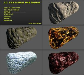 Free 3D textures pack 15 by Yughues