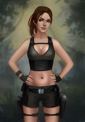 Lara Croft: Tomb Raider by Mikesw1234
