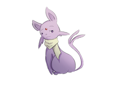Espeon by queenofgrapes