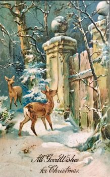 Visitor at the Gate, Christmas Eve by Yesterdays-Paper