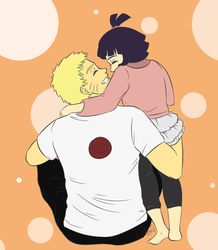NaruPops and Hima by J3NNt