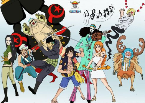 One Piece :: StrawHat Group ! by Katong999