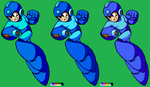 Mega Man 8 Concept artwork (MMLC2) finalised by BBLIR