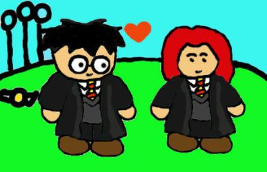 Lily Evans and James Potter by james-potter