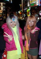 Ganguro Friends by Saki-Matsi