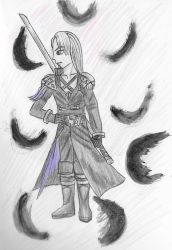 Me as Sephiroth by SM-Kunzite