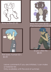 Commission sheet price ref page 2 of 2 by TK274