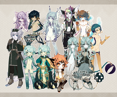 ::Adoptables:: Customs B3 + outfit design by Jotaku