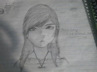 Tessa Gray (Again :P) by thedreamiscollapsing