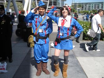 AX 2010 - Squad 7 Salute by Giolon