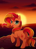 Sunset Shimmer by MomoMistress
