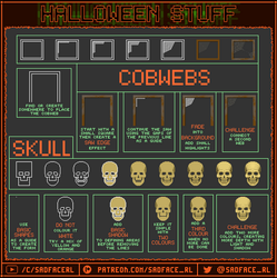 Halloween Pixel Art Tutorial - Part 2 by SadfaceRL