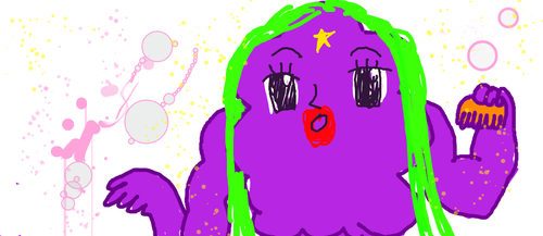LSP-  look at my new fancy green hair