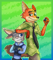 .:Judy and Nick:. by HyperionNova