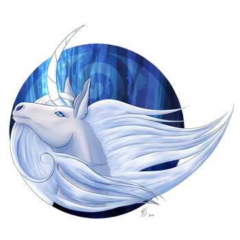 [Gift] Vivianne's Unicorn by LackeDragon