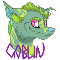 {oc} Goblin the Monster Jackal by GoblinFuzz