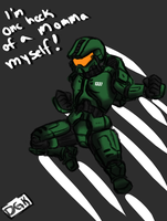Halo Odd One Out : Spartan 1337 by DarjingWriter