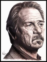 Tommy Lee Jones by choffman36
