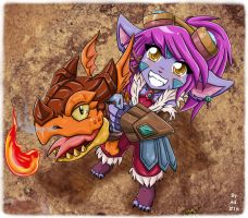 Tristana- Dragon Trainer by Konsennin