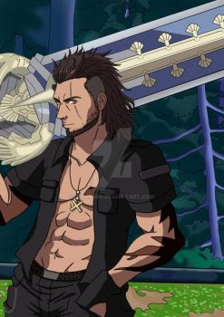 Gladiolus from Final Fantasy XV by Mirarimo