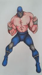 Blue Demon Jr. by cavaloalado