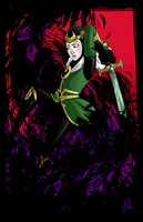 Loki and the Crows by IdentityPolution