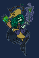 AT: Huntress Wizard by jmdoodle