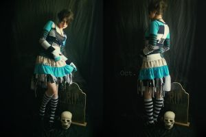 Alice In Zombieland by ash-bunny