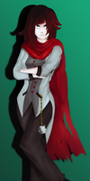 RWBY - Ruby in Qrow's Clothes by theklocko