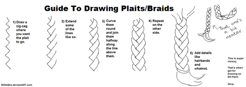 Guide to Drawing Plaits by MillieBee