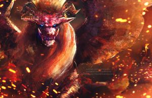 Teostra the Infernal by Aeflus