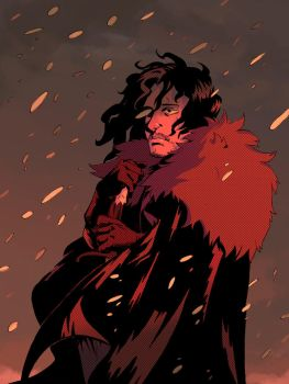 Jon snow color by MrParanoidXXX