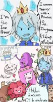 Adventure Time comic Ice prince by Hintara
