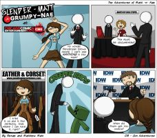 Adventures of Matt -n- Nae #8 - Con Adventures by TheEvilNae