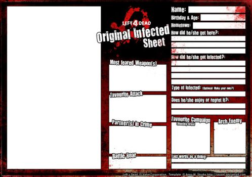 L4D Original Infected template by Sayael