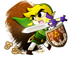 Toon Link by Elena114