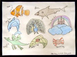 by Ellen Wang - 5th grade by DH-Students-Gallery