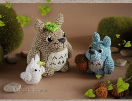 Totoro's forest by Keila-the-fawncat