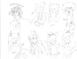 Look at all these folks by Ask-Kit-And-Crew
