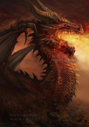 Firkraag Red Dragon from Baldur's Gate 2 preview by luffie