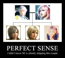 Square Enix is a secret shipper LOL by xXxAutumnRainxXx
