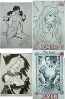 Comic Con 2011 sketches 1 by MichaelDooney