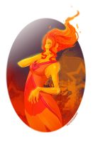 Flame princess by DenTrickster