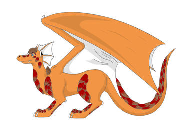 Full Dragon Form - Colored by Riverfox237
