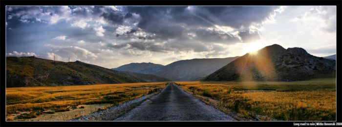 Long road to ruin by rrainman