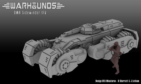 Outworlds Republic Sidewinder IFV by dsherratt74